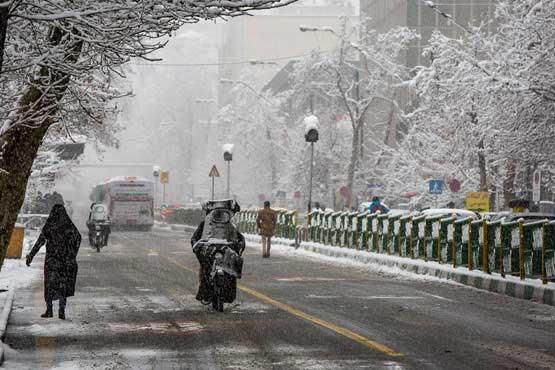 برف و باران کشور را فرا می گیرد