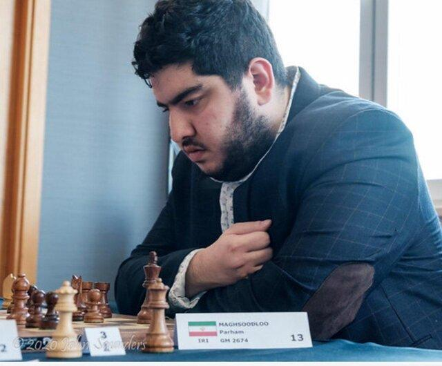 قهرمانی پرهام مقصودلو در رقابت های آنلاین شطرنج