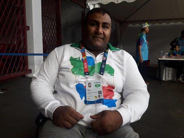 ورزشکار پارالمپیکی که سه بار کرونا را به زانو درآورد