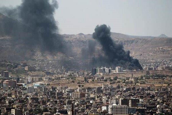 جنگنده های عربستان سعودی پایتخت یمن را به شدت بمباران کردند