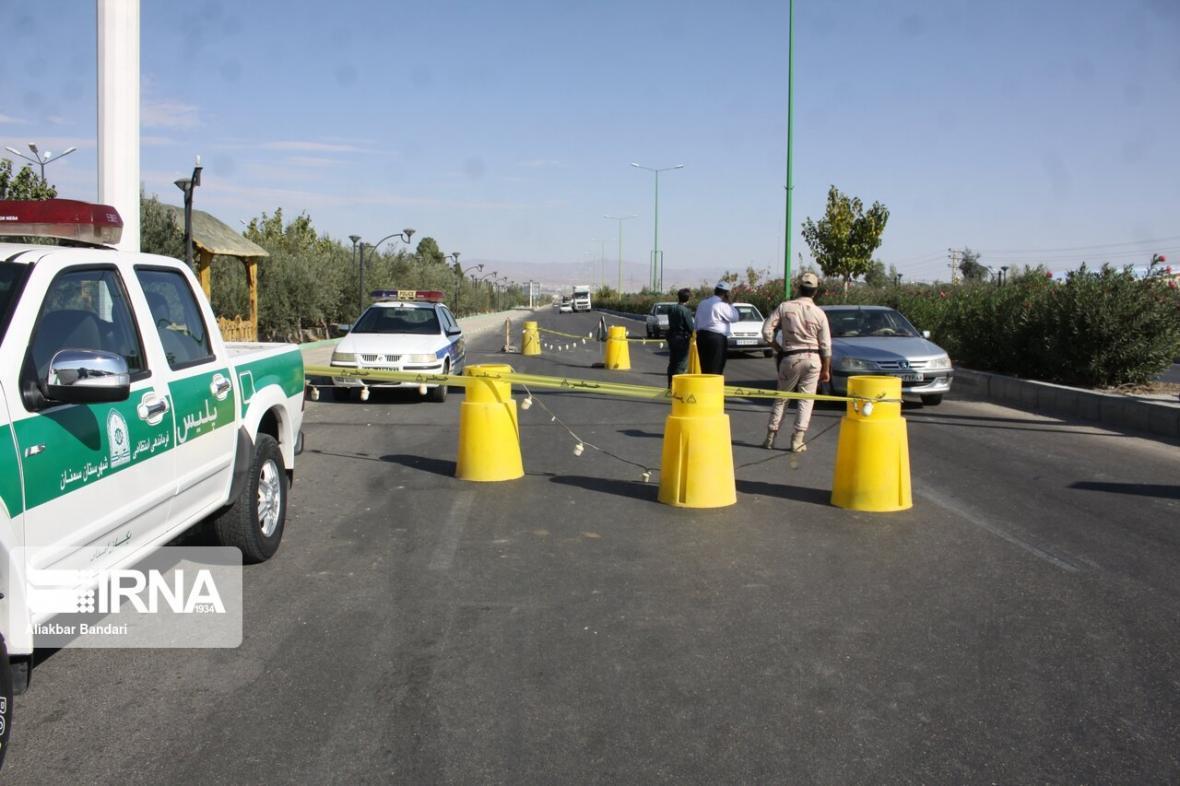 خبرنگاران فرماندار قزوین: جاده سلامت تا ساعت 21 امروز مسدود است